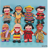 8 Ethnic Puppets From Around The World