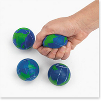 2 Inch Soft Squeeze Globes
